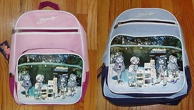 NEW Large Backpack Bratz Doll NewsStand Book Bag Pink or Blue Barbie Big Girls