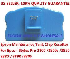 Epson Maintenance Tank Chip Resetter, Stylus Pro 3800 3800C 3805 3850 3880 3890
