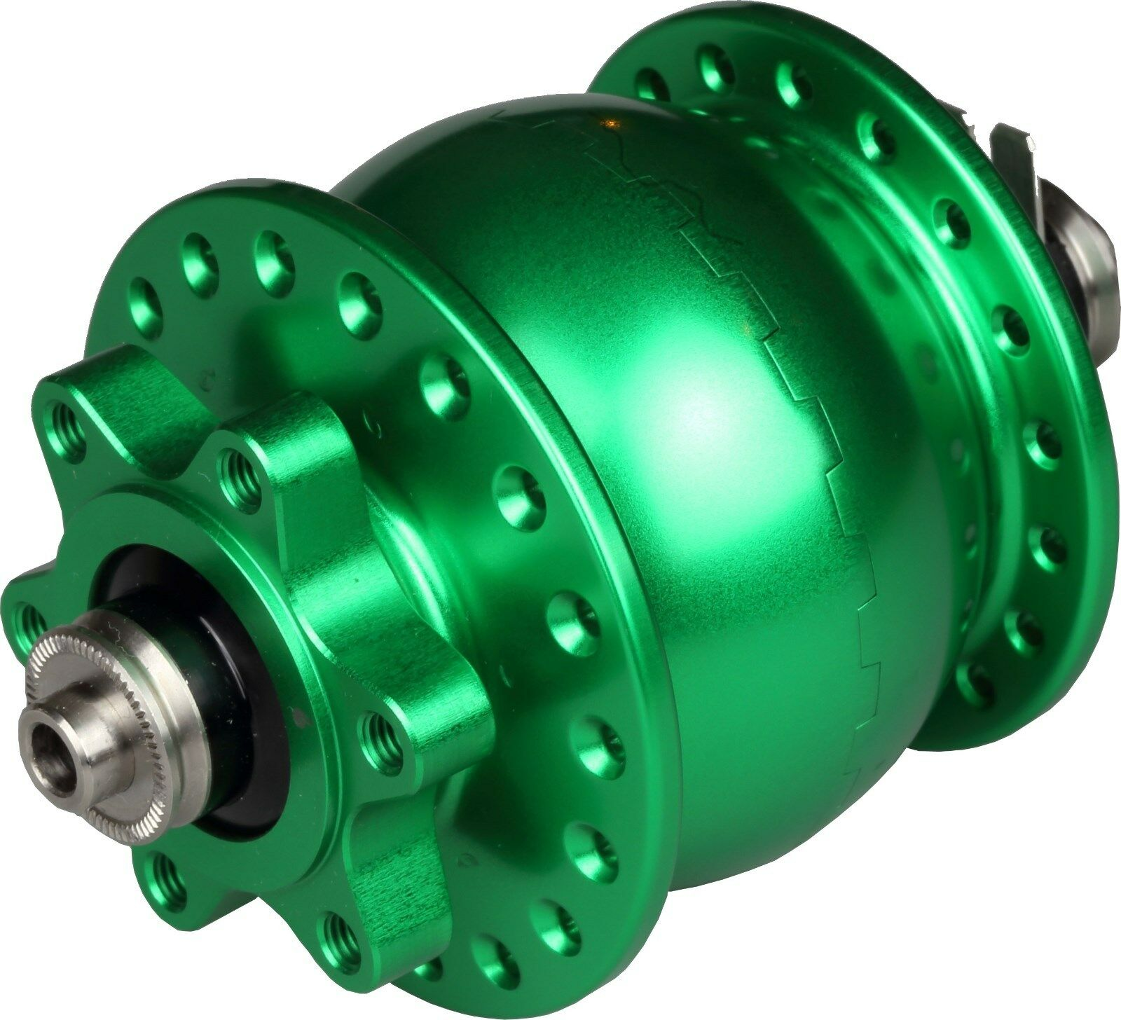Hub Dynamo Son 28 New 36-hole Green for Disc 6-hole