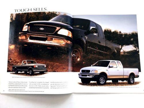 F-150 F-250 1998 Ford F-Series Pickup Truck 28-page Original Sales Brochure