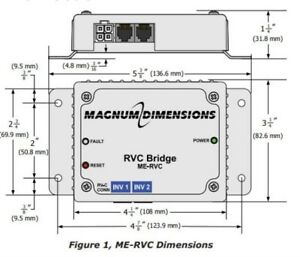 image is loading magnum-me-rvc-bridge-for-magnum-inverters-chargers