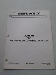 Original-Gravely-Light-Kit-for-2-Wheel-Tractor-Manual-List-46131-8-88