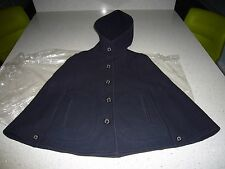 Genuine MACKINTOSH Ladies Womens Wool Cape Raincoat Mac Coat NEW Size 34 PETITE