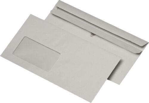 75... DL MAILmedia® Briefumschlag selbstklebend mit Fenster 220 x 110 mm