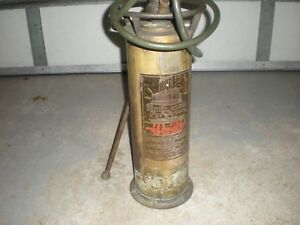 Details About Rare Antique Fyr Fyter Central Station Br Fire Extinguisher Empty