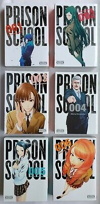 Prison School Vol 1 2 3 4 5 6 Lot English Manga Graphic Novel Akira Hiramoto Yen Ebay