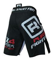 RDX Fight Shorts UFC MMA Cage Grappling Short Boxing Kick Muay Thai Martial Blk