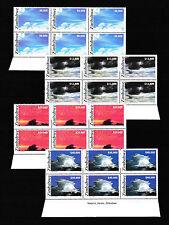 Zimbabwe 2005 Clouds Imprint Blocks, MNH (sheet margin)