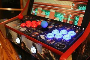 Bar top arcade cabinet do it yourself kit t molding cuts included ebay image is loading bar top arcade cabinet do it yourself kit solutioingenieria Choice Image