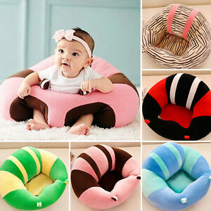 45467308c38 Kids Baby Support Seat Sit up Soft Chair Cushion Sofa Plush Pillow ...