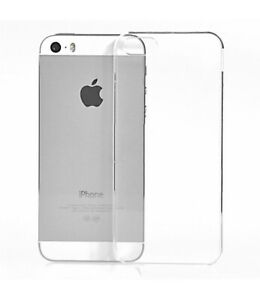 Custodia per Apple iPhone 5S 5 flessibile GIALLA Cover Sottile