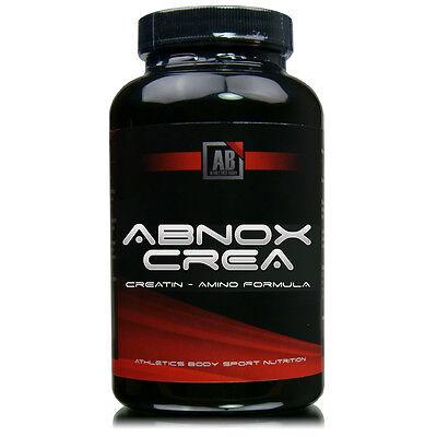 ABNOX CREA Creatin plus Coffein Taurin Arginin BCAAs zu Muskelaufbau