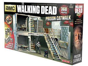 Details about McFarlane Walking Dead PRISON CATWALK Construction Building  14559 HERSHEL