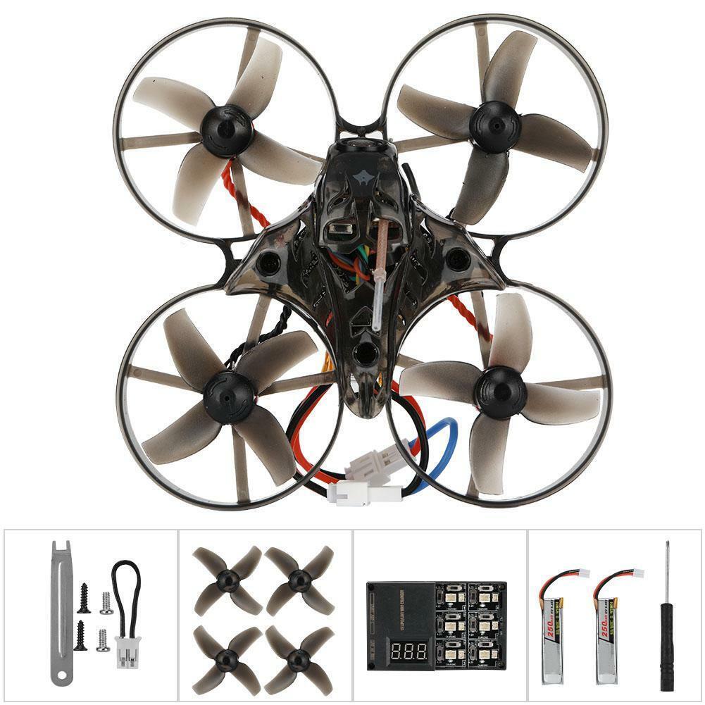 Happymodel Mobula 7 V2 75mm OSD 2S Whoop FPV Racing Drone BNF Quad F3 Crazybee
