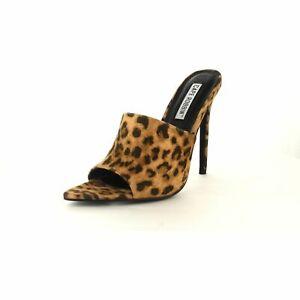 1d3c37af5d8 Jungle Cape Robbin Animal Print Pointed Open Toe Stiletto Heeled ...