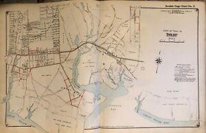 Oakdale Long Island Map 1915 OAKDALE VANDERBILT ESTATE SUFFOLK COUNTY LONG ISLAND NEW YORK