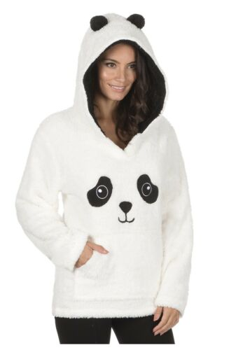Damas Novedad Animal Snuggle Lounge Sudadera Con Capucha//Con Capucha De ~ Unicornio o Panda