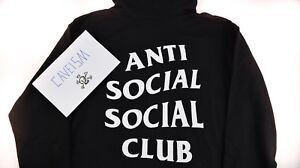Anti-Social-Social-Club-Mind-Games-Hoodie-Black-Brand-New-100-Authentic
