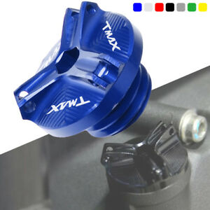 with-logo-Engine-Oil-Filter-Cup-Plug-Cover-Screw-For-Yamaha-Tmax-530-2013-2017