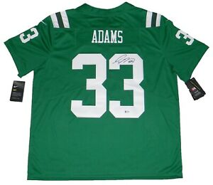 watch efcc4 830e4 Details about JAMAL ADAMS AUTOGRAPHED NEW YORK JETS COLOR RUSH NIKE LIMITED  JERSEY BECKETT