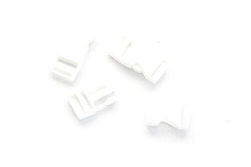 0,50 €//unité vert... blanc 2 pièces steckschließer 20mm rouge