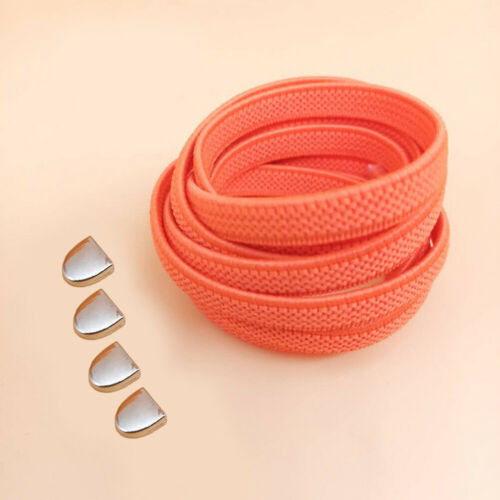 Elastic No Tie /'Lazy/' Shoe Laces Shoelaces For Trainers Shoes Laces With Buckle