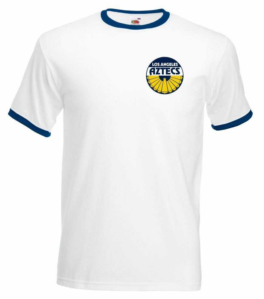 La Soccer T Aztecs Football Shirt Rétro American North Tnqx8U7d