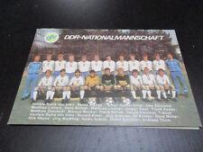 57470 Nationalmannschaft DFV unsignierte Autogrammkarte aus DDR Zeiten