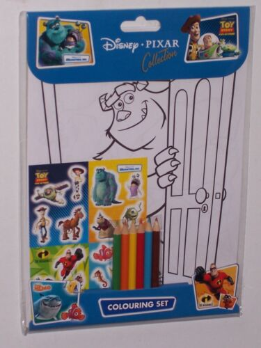 Disney Pixar Collection Colouring Set
