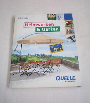 Gelernt Quelle Katalog Heimwerken & Garten Januar 2003-2004 Groß-versandhaus Fürth/bay.
