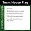 """Syracuse Orange House Flag NCAA Licensed 28/"""" x 40/"""" Briarwood Lane"""