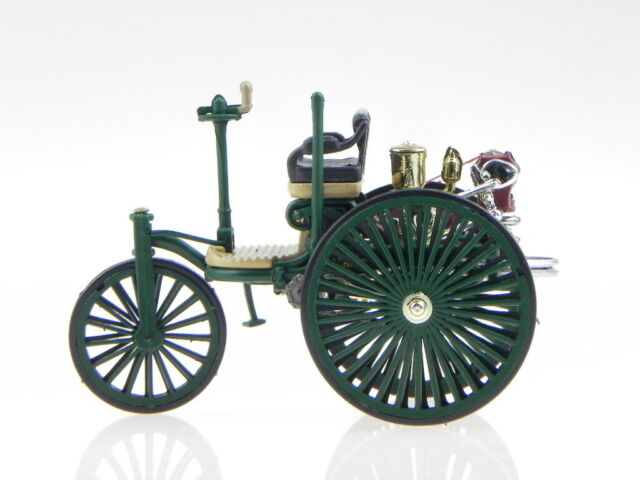 Mercedes-Benz Patent Motorwagen dunkel grün Baujahr 1886 1:43 Altaya