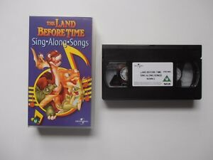 Universal-Studios-The-Land-Before-Time-Sing-Along-Songs-1997-VHS-Video