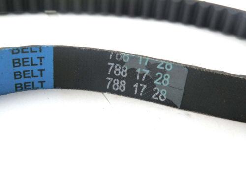 Drive Belt 788 17 28 for 50cc 2 stroke 1E40QMB engine