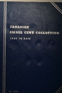 Canada-Small-Cent-Set-in-Whitman-Canada-Small-Cents-Folder