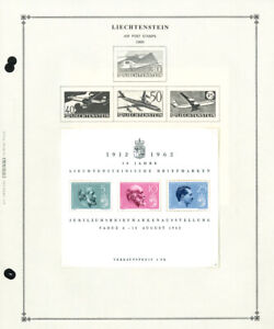 Liechtenstein-Mostly-Mint-1950s-to-1990s-Potent-Stamp-Collection