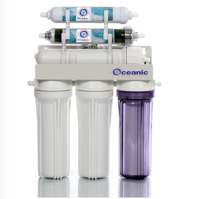 Dual Outlet |50 GPD| Aquarium/Drinking Reverse Osmosis Water Filter System RO/DI