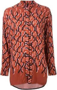 Sold-Out-SCANLAN-THEODORE-Chain-Print-Shirt-Sz-12-BNWOT-RRP-350