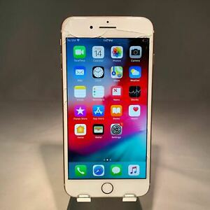 Apple-iPhone-8-Plus-64GB-Gold-Verizon-Unlocked-Cracked-Screen-Bad-Home-Cam-READ