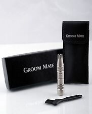 CORDLESS MENS NOSE AND EAR HAIR TRIMMER NASAL HAIR REMOVER GROOM MATE CLIPPER