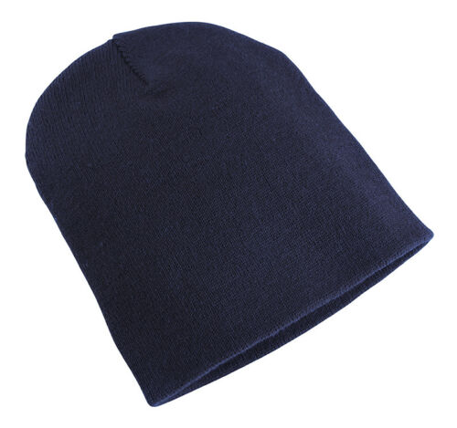 Yupoong Heavy Weight Adults Unisex Beanie Hat Urban Classic Caps Warm Snow New