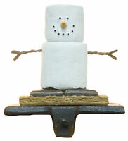 Christmas Decoration- Cast Iron/ Resin S'mores Stocking Holder By Midwest Cbk