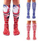 Fashion Women Christmas Socks Funny Socks Knee Socks Beach Cosplay Stockings