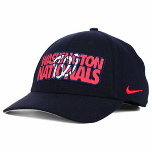 f39cbf5e927 Image is loading Washington-Nationals-Nike-MLB-Verbiage-Logo-Flex-Cap-