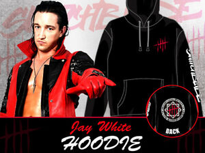 183ebce47985c NJPW Jay White pullover Hoodie Parker Black BULLET CLUB Cool cotton ...