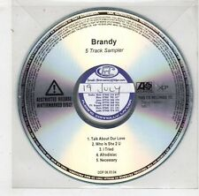 (HB641) Brandy, Talk About Our Love - DJ CD