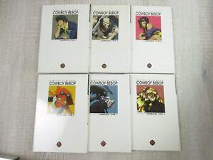 COWBOY-BEBOP-Film-Book-Set-1-6-w-Poster-Anime-Art-Works-Fan-Book-KD-FREE-SHIP