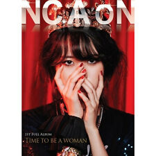 NC.A-[TIME TO BE A WOMAN] 1st Album CD+Photo Book K-POP Sealed