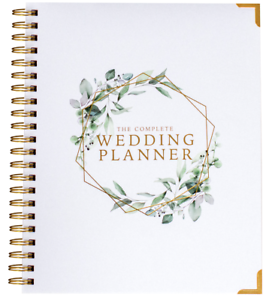Wedding Planner Organizer Floral Eucalyptus Usa Brides Bridal Planning Book Ebay