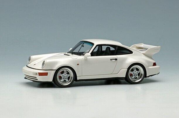 Maquillaje visión 1  43 vm156e Porsche 911 964 Cocherera Cocherera Cocherera RS 3.8 1993 modelo blancoo f5a